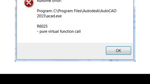 How to Fix R6025 Pure Virtual Function Call