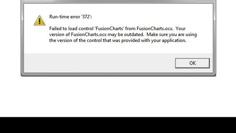 How to Resolve Runtime Error 372