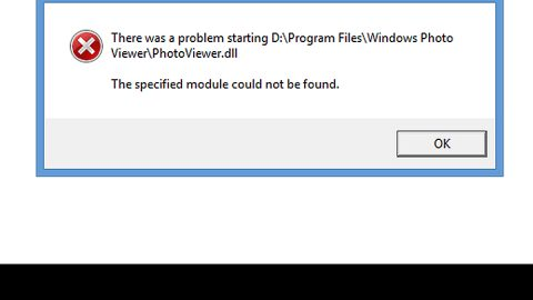 A Quick Guide to Resolving Photoviewer.dll Error