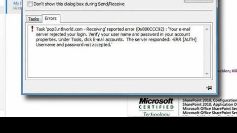 A Quick Guide to Resolving Error Code 0x800ccc92 on Your PC