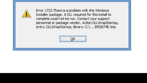 A Guide to Quick Fixing the Error Code 1723