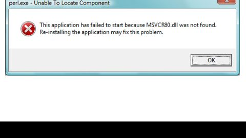 How to Fix Missing MSVCR80.dll Error