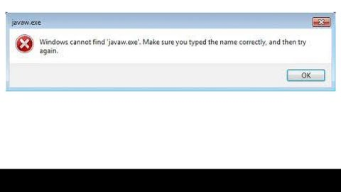 How to fix the Javaw.exe Error Code