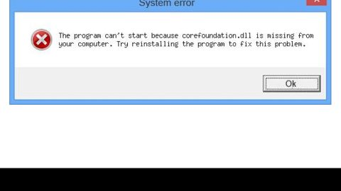 A Guide to Fixing Corefoundation.dll Error on Your PC