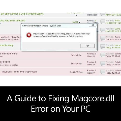 A Guide to Fixing Magcore.dll Error on Your PC