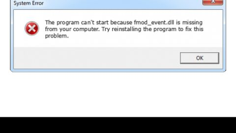 How to Fix Fmod.dll Error Code