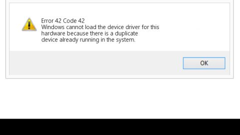 How to Deal With Error Code 42