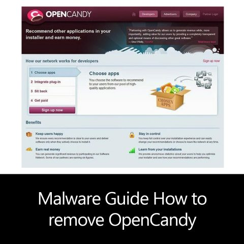 Malware Guide: How to remove OpenCandy