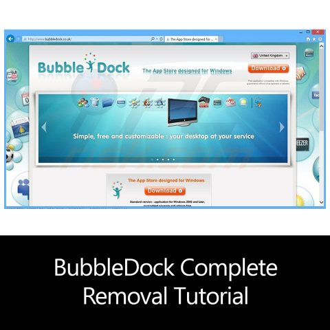BubbleDock Complete Removal Tutorial