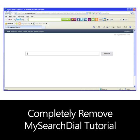 Completely Remove MySearchDial Tutorial