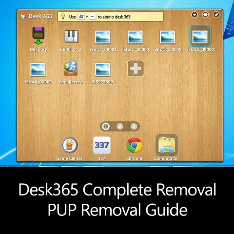 Desk365 Complete Removal - PUP Removal Guide