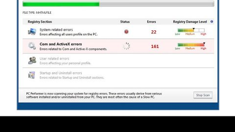 Easy Remove PCPerformer From Windows