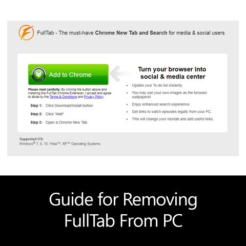 Guide for Removing FullTab From PC