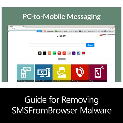 Guide for Removing SMSFromBrowser Malware