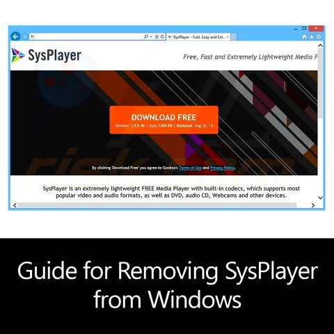 Guide for Removing SysPlayer from Windows