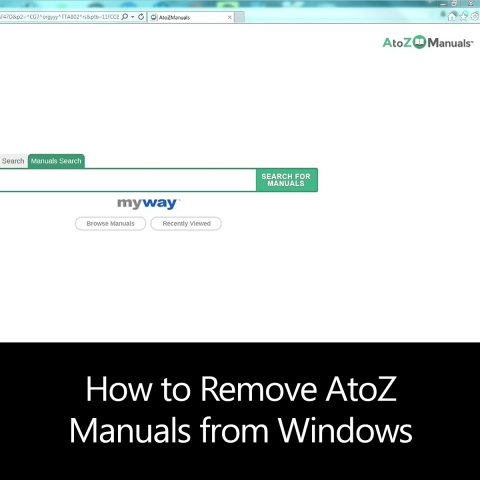 How to Remove AtoZ Manuals from Windows