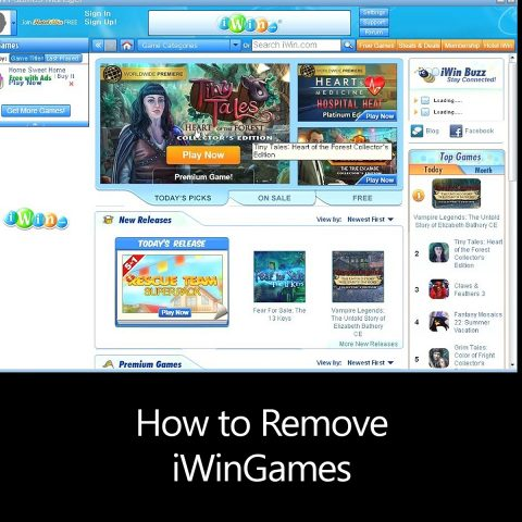 How to Remove iWinGames