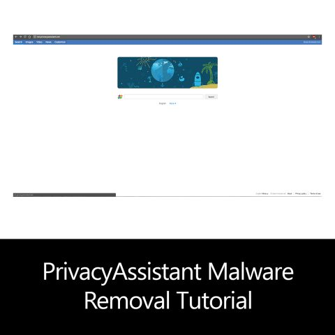 PrivacyAssistant Malware Removal Tutorial
