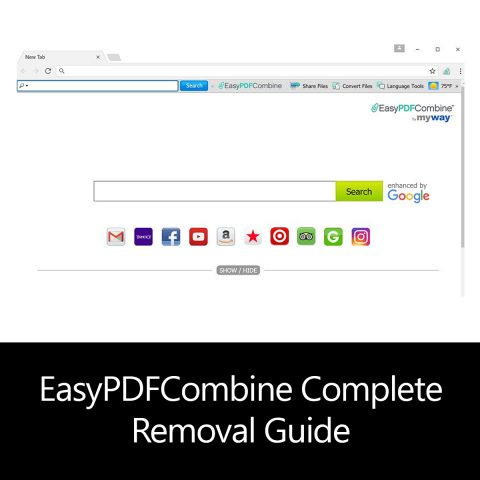 EasyPDFCombine Complete Removal Guide