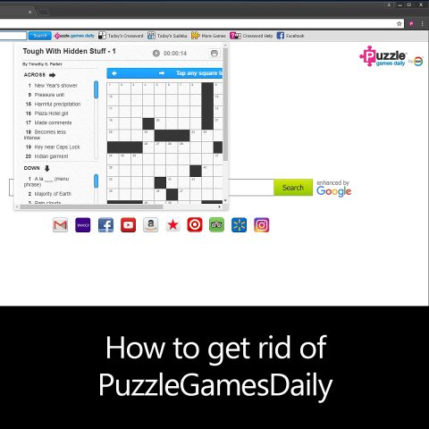 How to get rid of PuzzleGamesDaily