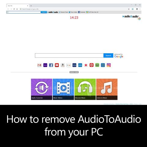 How to remove AudioToAudio from your PC