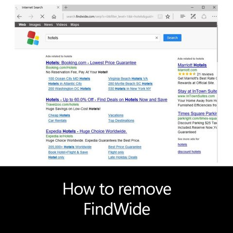 How to remove FindWide