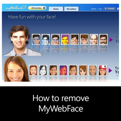How to remove MyWebFace