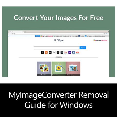 MyImageConverter Removal Guide for Windows