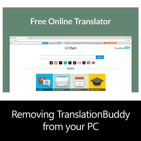 Removing TranslationBuddy from your PC