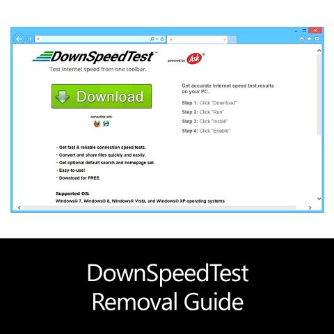 DownSpeedTest Removal Guide