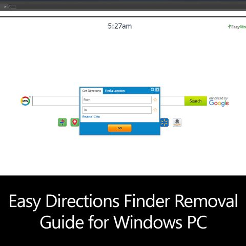 Easy Directions Finder Removal Guide for Windows PC