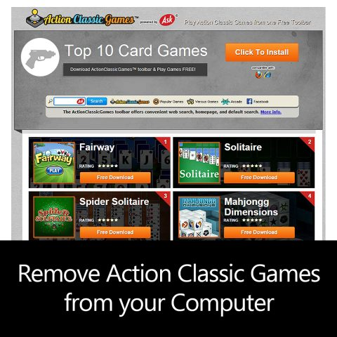 How to remove Action Classic Games from your Computer