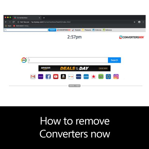 How to remove Converters now