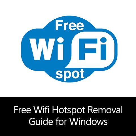Free Wifi Hotspot Removal Guide for Windows