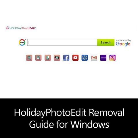HolidayPhotoEdit Removal Guide for Windows