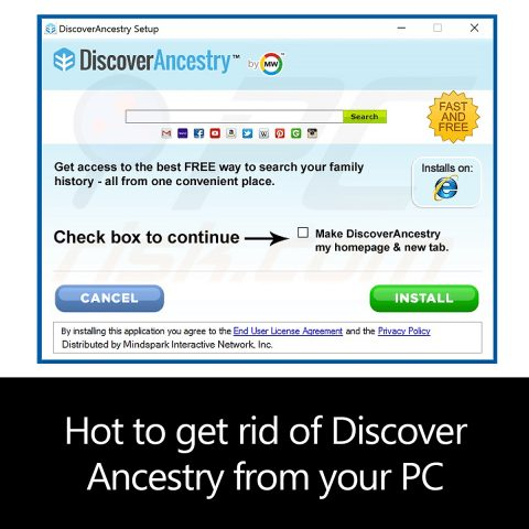Hot to get rid of DiscoverAncestry from your PC