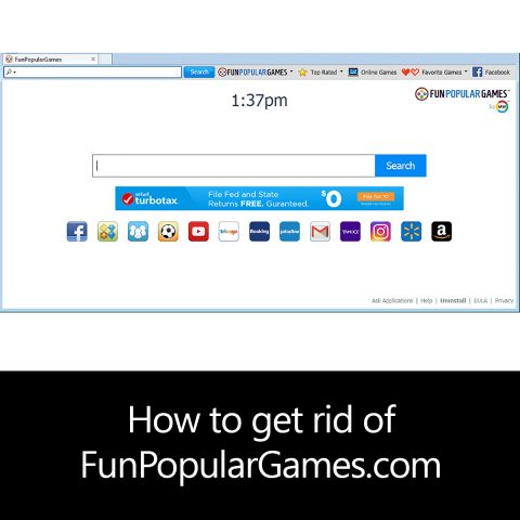 How to get rid of FunPopularGames.com