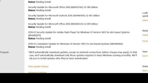 Delete Downloaded, Failed and Pending Windows Updates