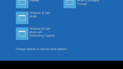 How to Add Safe Mode to Windows 10 Boot Menu Options