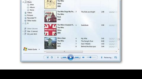 Windows Media Player is not playing the Music Playlist