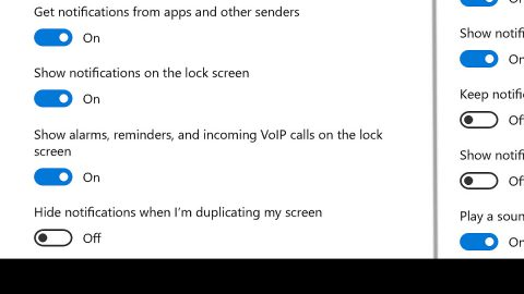Disable the Notifications for any Apps
