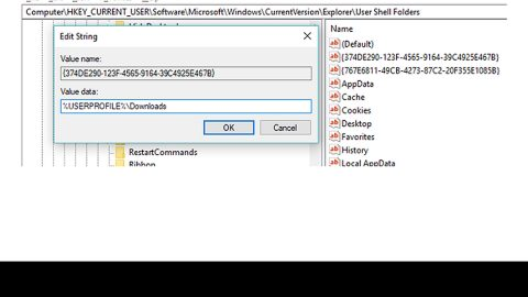 How to Unmerge the User folder in Windows 10