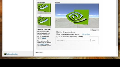 NVIDIA Control Panel is not opening