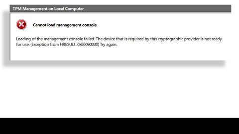 Cannot load Management Console