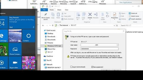 Setting up an FTP Server in Windows