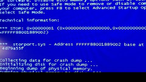 Storport.sys BSOD errors in Windows