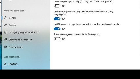 How to Turn off Advertising ID in Windows