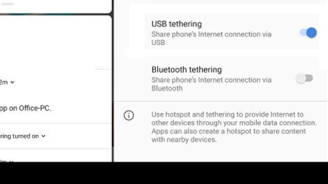 USB tethering is not working