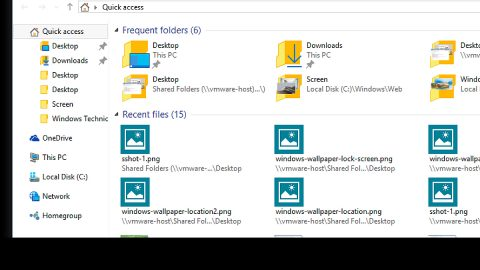 Can't drag and drop files or folders