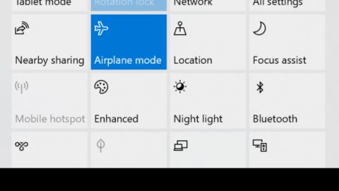 Windows is stuck in Airplane Mode